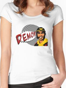 DEMON! Women's Fitted Scoop T-Shirt