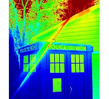 T.A.R.D.I.S. Rainbow Photographic Print