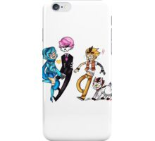 mystery skulls- ghost iPhone Case/Skin