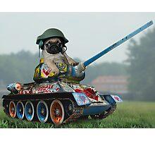 Tank Pug Photographic Print