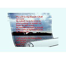 Psalm Photographic Print