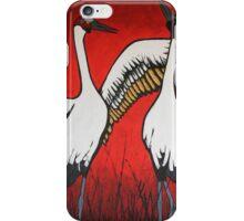 Brolgas Dancing iPhone Case/Skin