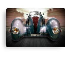 Vintage Speed Machine Canvas Print