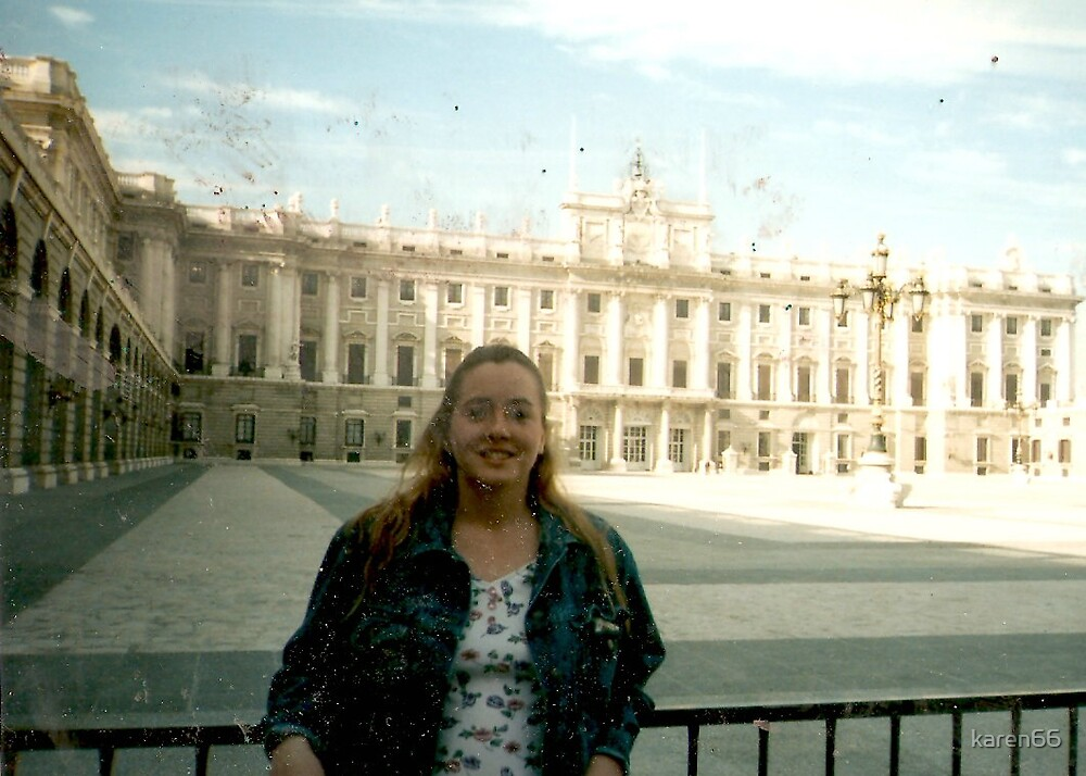 Karen in Front of a Spanish Palace by karen66