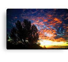 September Skies Canvas Print