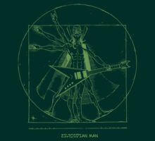 Ziltoidian Man Green by VanHogTrio