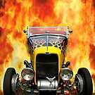 Hot Hotrod by Phil Rowe