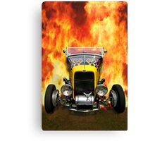 Hot Hotrod Canvas Print