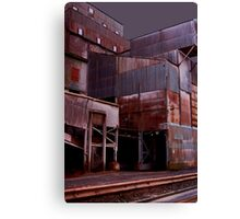 Stormy Quarry Canvas Print