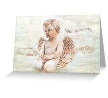 """The Littlest Angel """"With Sympathy"""" ~ Greeting Card Greeting Card"""