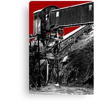 The Pits Canvas Print