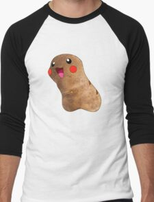 Potato Pikachu Men's Baseball ¾ T-Shirt