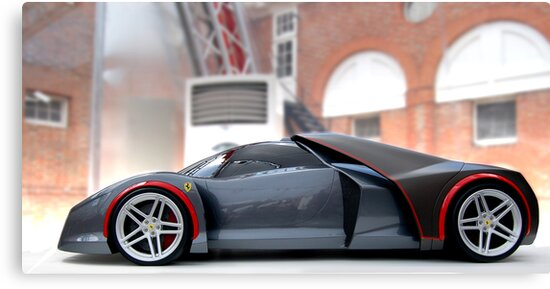 Ferrari Concept by Phil Rowe