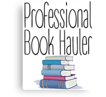Professional Book Hauler Canvas Print