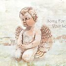 "The Littlest Angel ""Sorry For Your Loss"" ~ Greeting Card by Susan Werby"