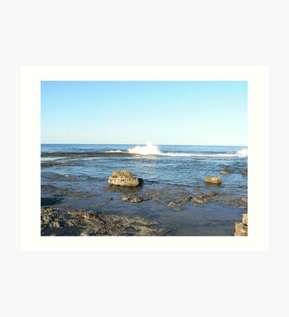Iluka Beach Wave #1 Art Print