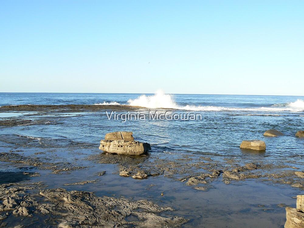 Iluka Beach Wave #1 by Virginia McGowan