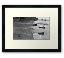 shores Framed Print