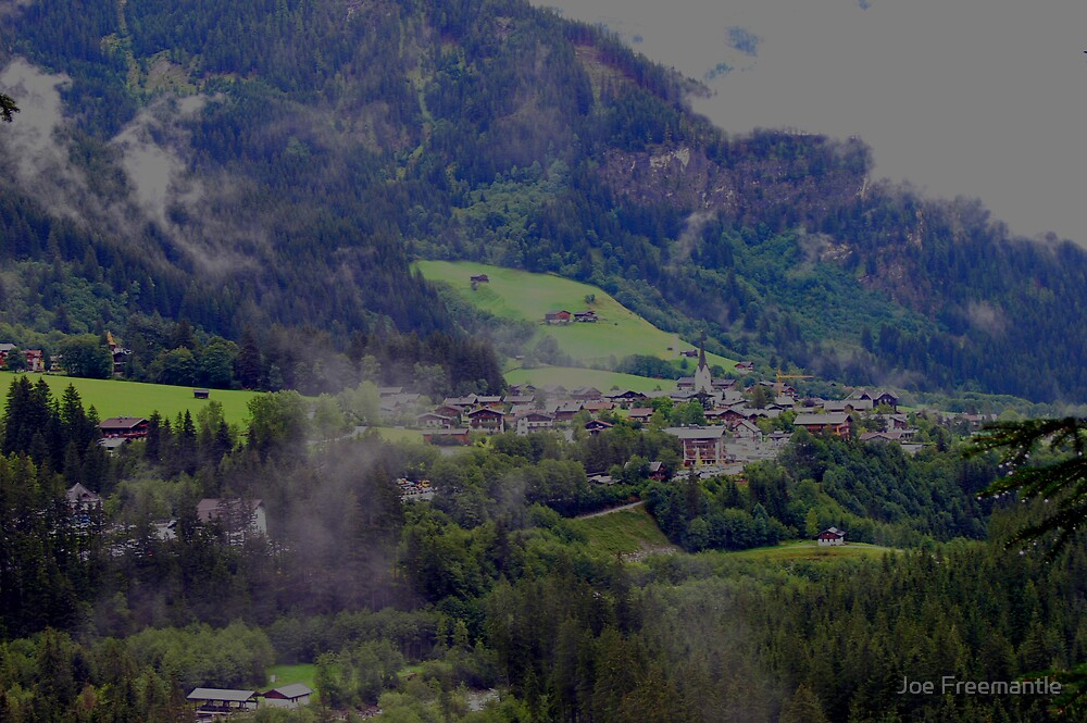 Village in the clouds by Joe Freemantle