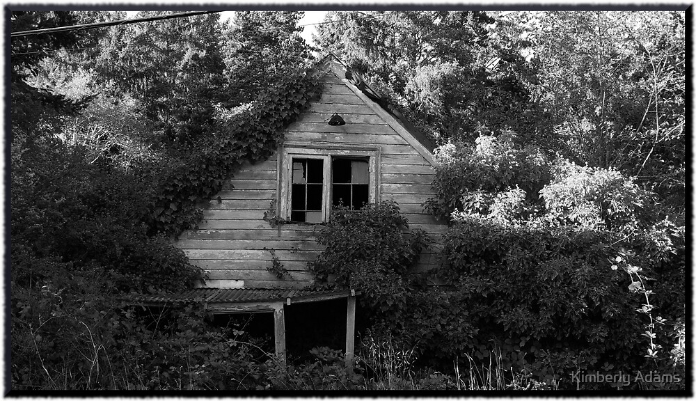 Forgotten...in BW by Kimberly Adams