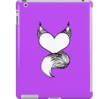 Furry at Heart (Orchid) iPad Case/Skin