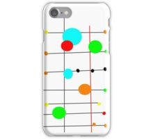 DOTS, COLOR, abstract iPhone Case/Skin
