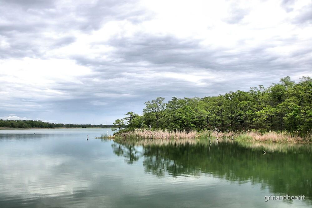 Murry Lake by grinandbearit