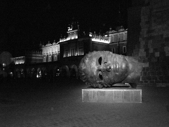 Krakow (Poland) square by Emma Fitzgerald