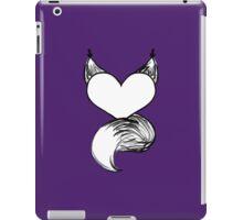 Furry at Heart (Dark Purple) iPad Case/Skin