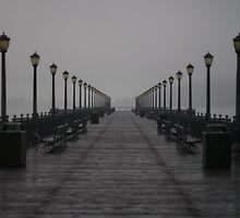 Down The Pier We Go by Xr37Photography