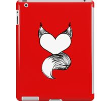 Furry at Heart (Red) iPad Case/Skin