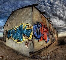 Desert Graffiti by Jake Easley