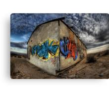 Desert Graffiti Canvas Print