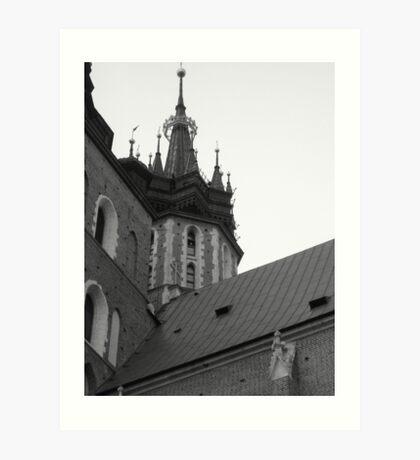 krakow (Poland) the bells are ringing Art Print