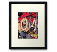 Mirror-Go-Round Framed Print