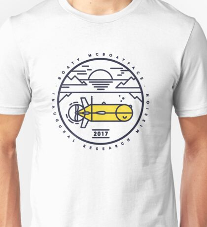Boaty McBoatface Launch Unisex T-Shirt