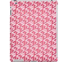 Penrose Cube - Pink iPad Case/Skin