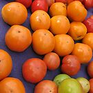 Farmers market tomatoes 1 by Farrah Garland