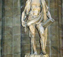 St. Bartholomew - Duomo - Milan by Karen Ashenberner