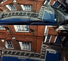 Reflection of Georgian House on Car Body by EricHands