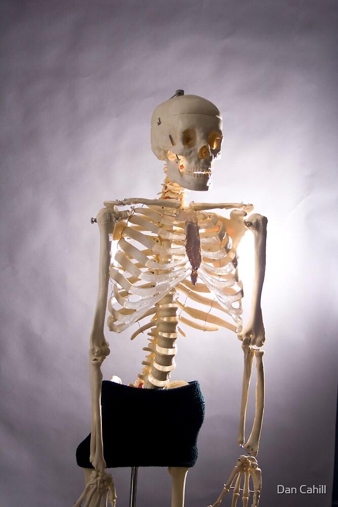 Skeleton Series: Semi Nude by Dan Cahill