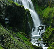 Waterfall in Iceland by Michael Duggan