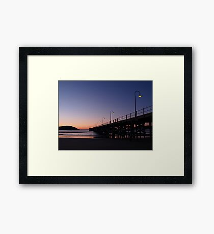 Sunrise 1, Coffs Harbour, NSW, Australia Framed Print
