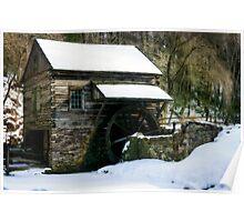 Cutalossa farm in Winter Poster