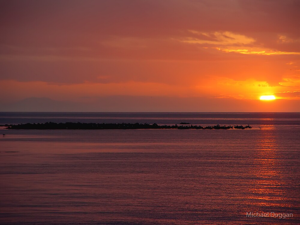 Sunset in Iceland by Michael Duggan
