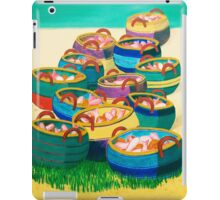 Jesus Feeds a Multitude-and the Apostles iPad Case/Skin