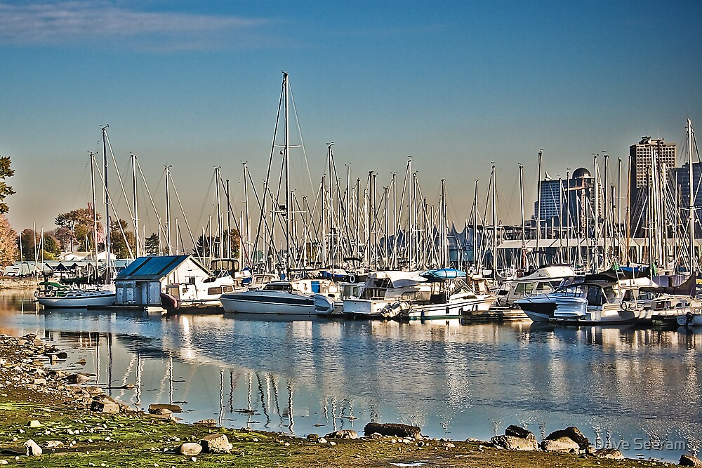 Vancouver Harbour by Dave Seeram