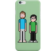 8Bit Rhett and Link iPhone Case/Skin