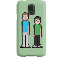 8Bit Rhett and Link Samsung Galaxy Case/Skin