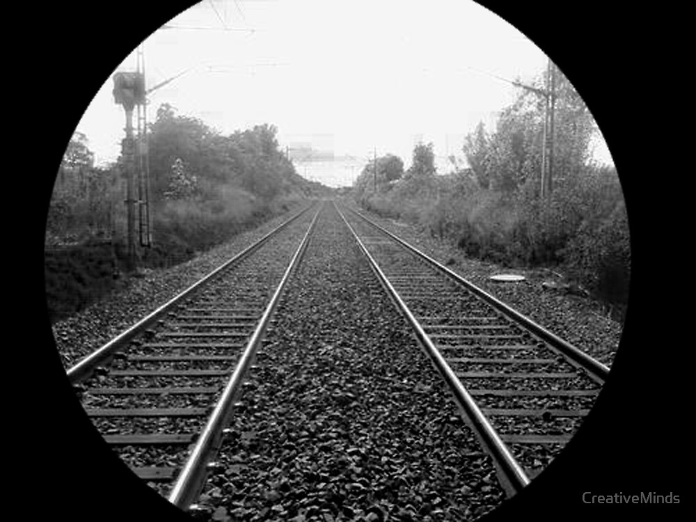 Railway To The Horizon by CreativeMinds